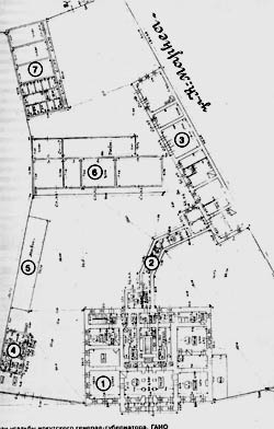 План усадьбы генерал-губернатора