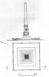 План памятника